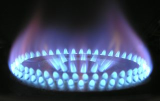 An image of a gas light