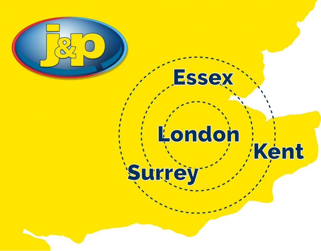 J&P is conveniently located. Based in south-west London, we can provide support for homeowners and customers in need of plumbing and heating repairs.
